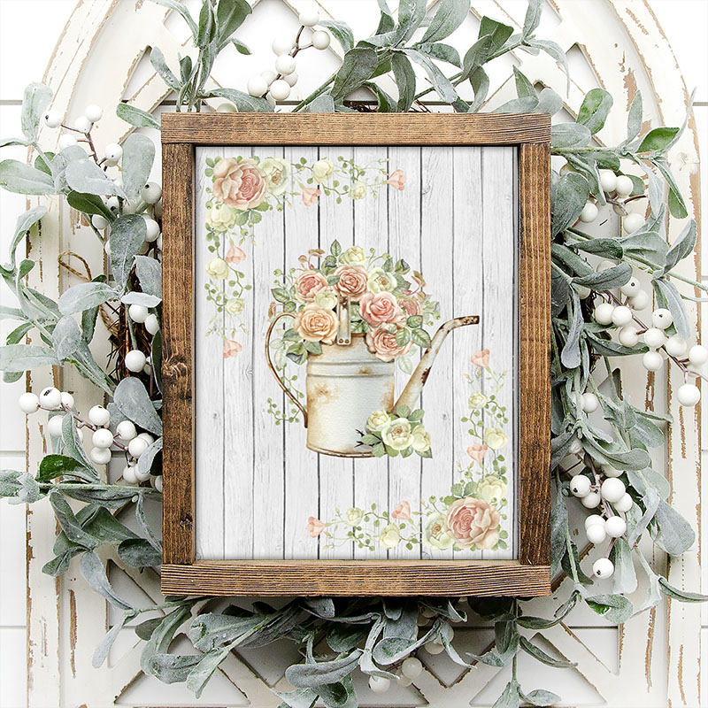 This Oh So Chic Free Printable Farmhouse Wall Art just might be what you have been looking for to add that special touch of charm to your space. It comes in 4 different style and one is perfect for you!