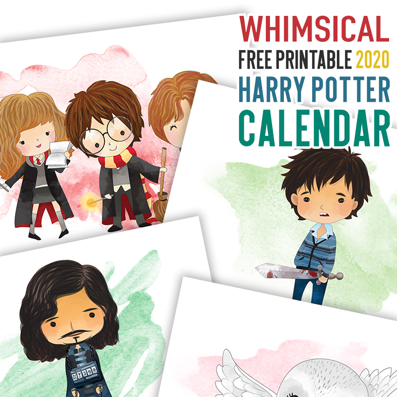 Free Printable Harry Potter Christmas Recipe Card is what is on the Free Printable Menu today at The Cottage Market.  Share all your Holiday Special Recipes with Friends and Family!