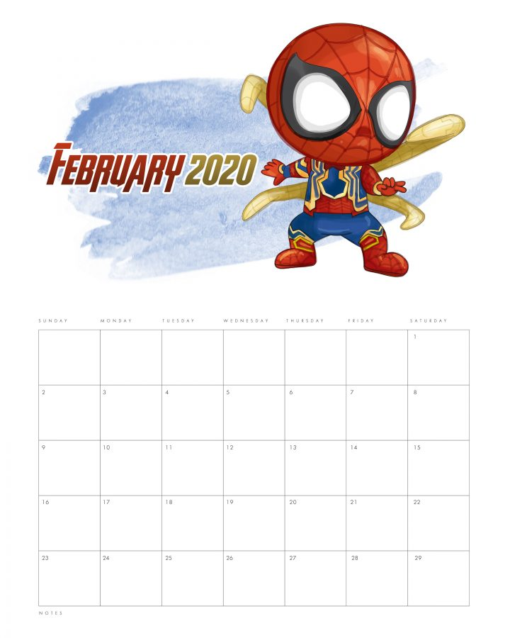 This Free Printable 2020 Avengers Calendar is what is on the Free Printable Menu today!  Join, Spiderman, Captain America, Ironman and the whole Avengers Gang to stay organized all year long!