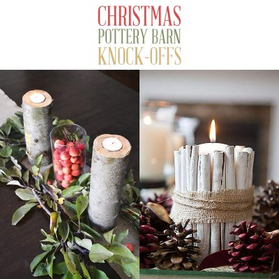 Christmas Pottery Barn Knock Offs!