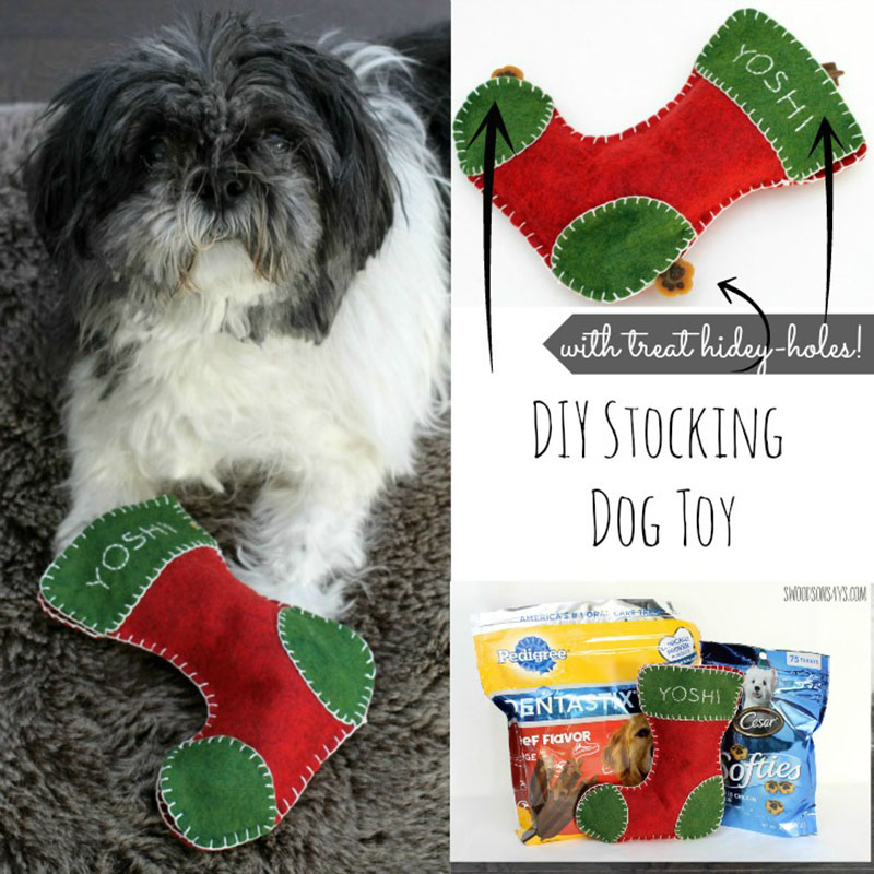 Check out these DIY Pet Gifts Your Furbaby Will Love! You will be surprised how easy these are to make and how much your pets will adore playing with them.