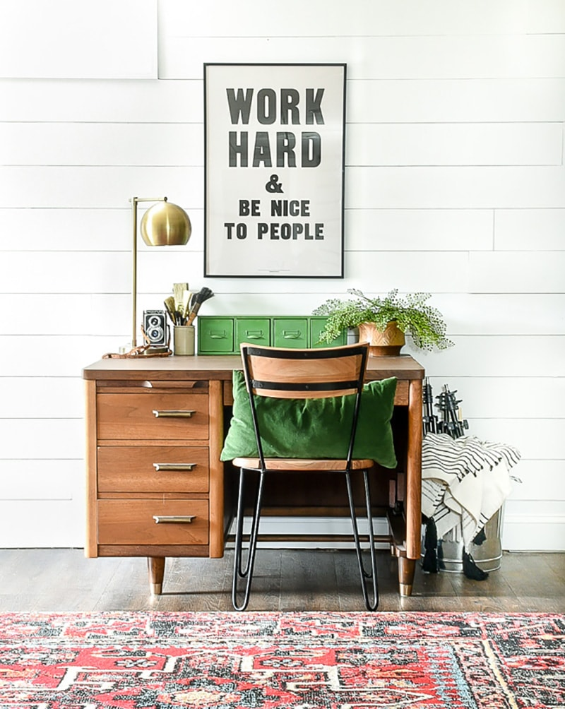 Fresh Diy Farmhouse Office Decor And Inspiration The Cottage Market