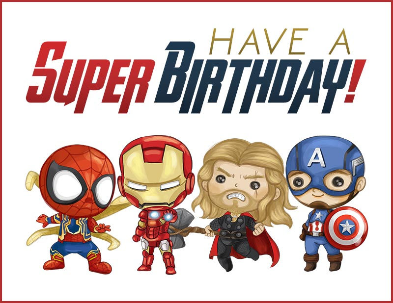 These Free Printable Pop Culture Birthday Cards are so much fun and I bet you will print a bunch out along with an envelope to have on hand when you need one right away!