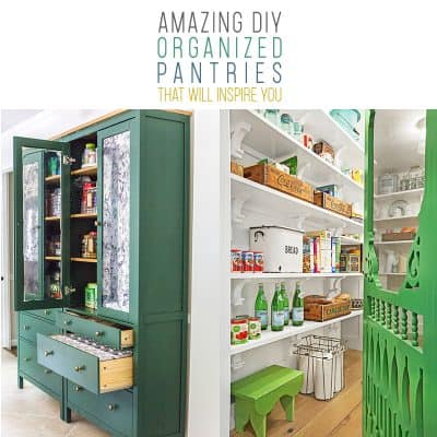 Amazing DIY Organized Pantries That Will Inspire You!