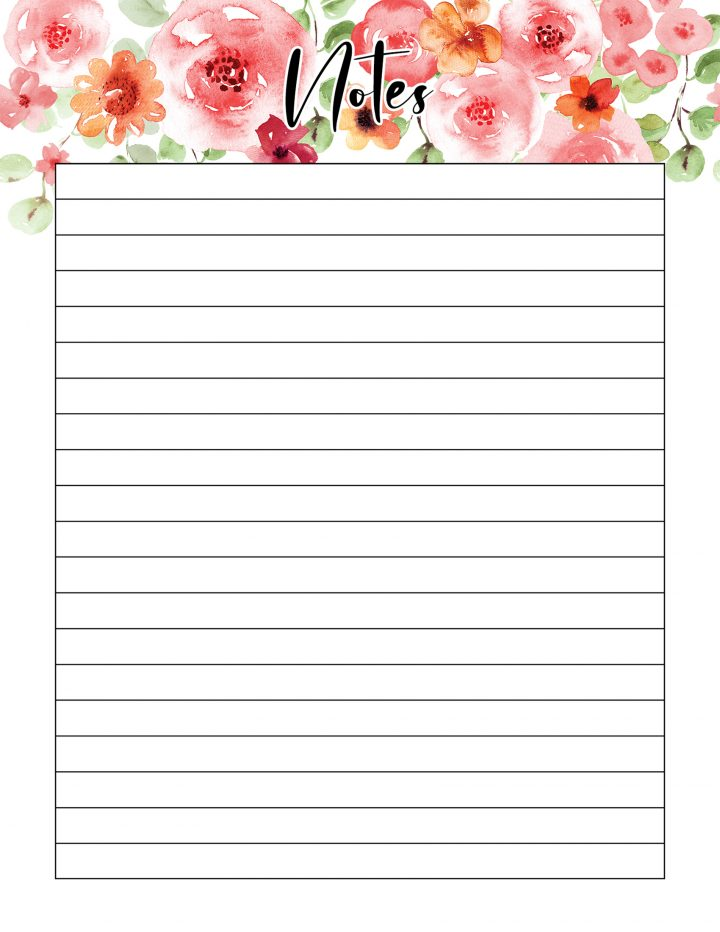 This Pretty in Pink Free Printable 2020 Personal Planner is waiting to get you totally organized this year! Filled with 50 pages + from Daily Planner to Weekly Planner to Budgeting to Pet Care to Menu Planning and so much more!
