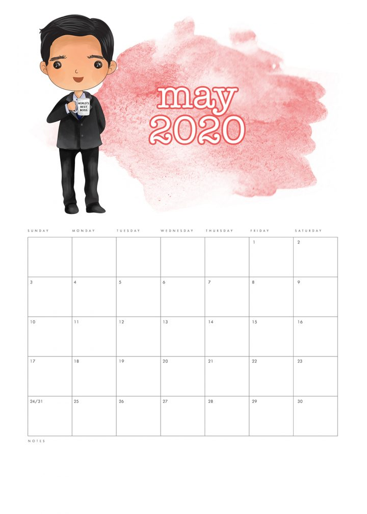 This Free Printable The Office Calendar is going to add a ton of fun to your space!  Michael, Pam, Jim, Dwight and the Gang will get your organized for the entire year!
