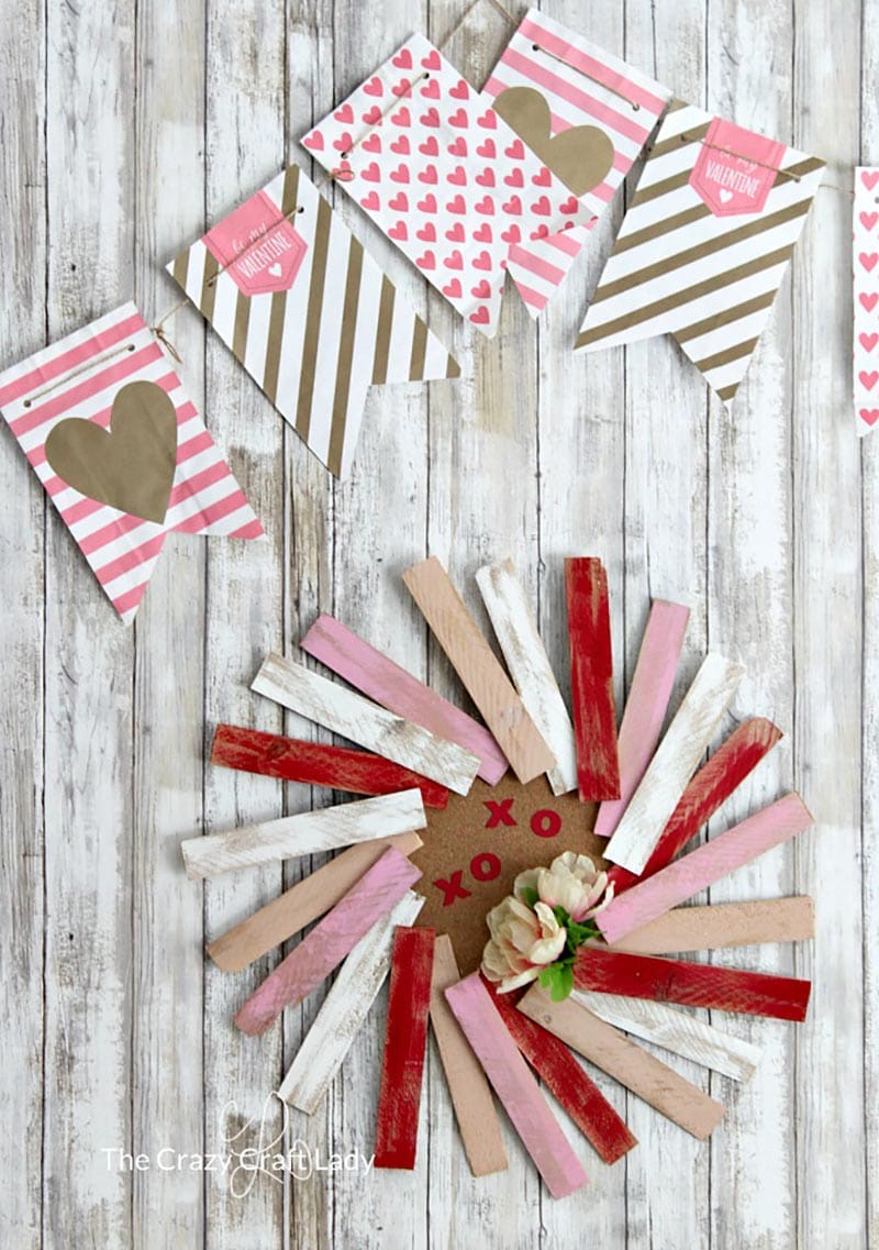 More Dollar Store Valentine's Day Hacks are waiting for you so you can share the love! Quick, easy and budget friendly Home Decor crafts to make Valentine's Day a touch sweeter!