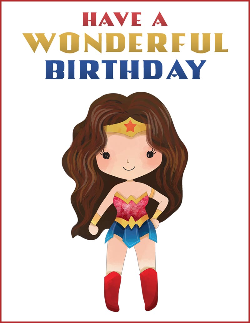 Free Printable Pop Culture Birthday Cards The Cottage Market