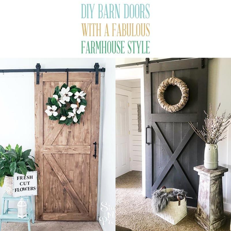 Diy Barn Doors With A Fabulous Farmhouse Style The Cottage Market
