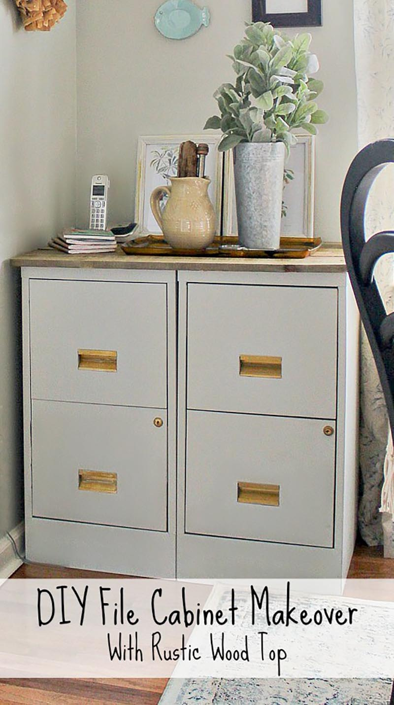 The Best Upcycled File Cabinets Ever! - The Cottage Market
