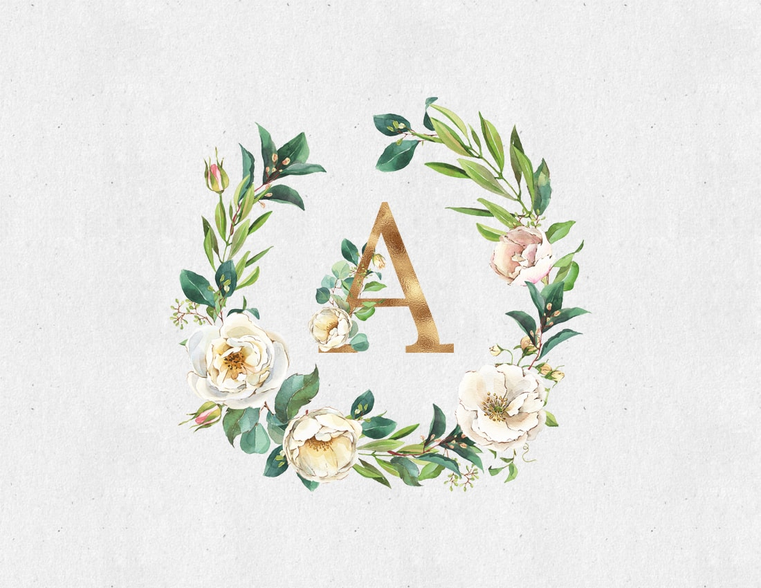 These Beautiful Free Printable Monogrammed Note Cards are going to become your very best friend.