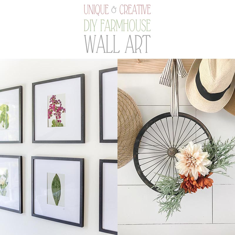 Unique And Creative Diy Farmhouse Wall Art The Cottage Market