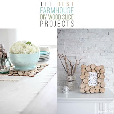 The Best Farmhouse DIY Wood Slice Projects!