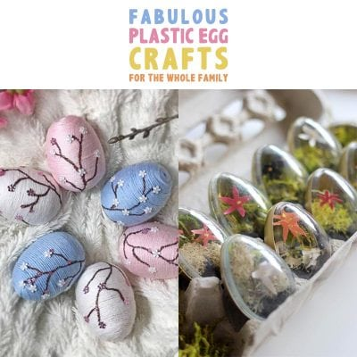 Fabulous Plastic Egg Crafts For The Whole Family