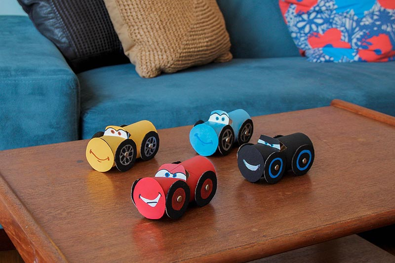 These Toilet Paper Roll Crafts are going to be a hit with the Kids! There are so many fun creations that can be made in a snap! Not that much clean-up either!