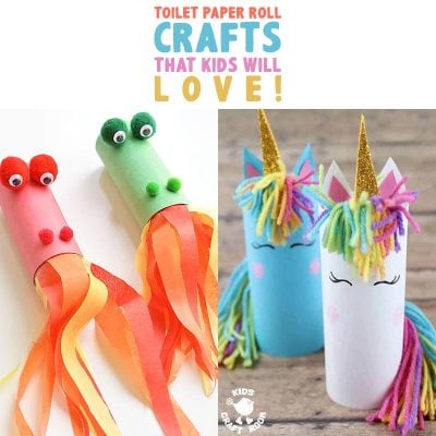 Toilet Paper Roll Crafts The Kids Will Love!
