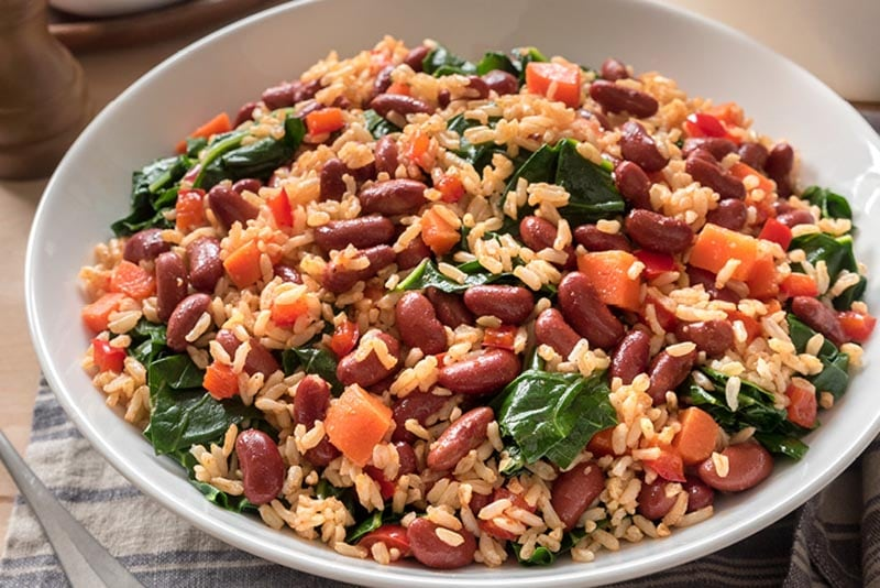 These Quick and Easy Beans and Rice Recipes are absolutely delicious and you can make them in a snap with dry items you have in your pantry.
