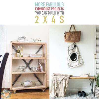 MoreFabulous Farmhouse Projects You Can Build With 2X4s