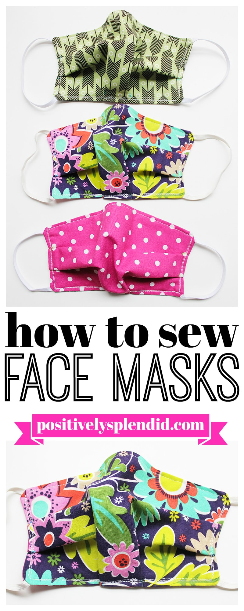 These Free DIY Face Mask Tutorials are waiting to be sewn or crocheted by you! Each one comes with a Free Tutorial. Help stop the spread… make them for the whole family