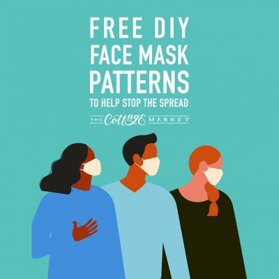 Free DIY Face Mask Tutorials