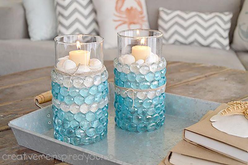 This collection has The Absolute Best Dollar Store DIY Glass Vases ever! Each one is prettier than the other and all are quick and easy to create
