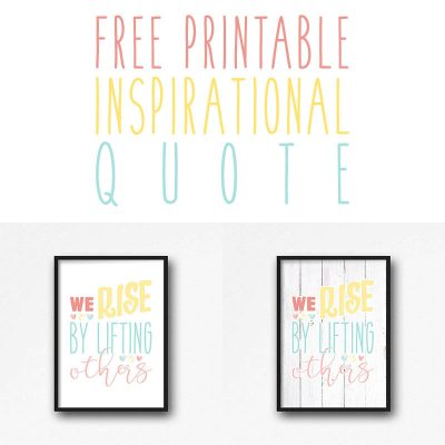 Free Printable Inspirational Quote For This Moment in Time