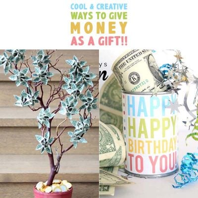 Cool and Creative Ways To Give Money As A Gift!