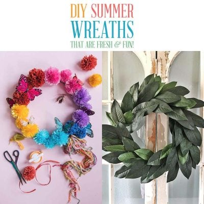 DIY Summer Wreaths that are Fresh and Fun