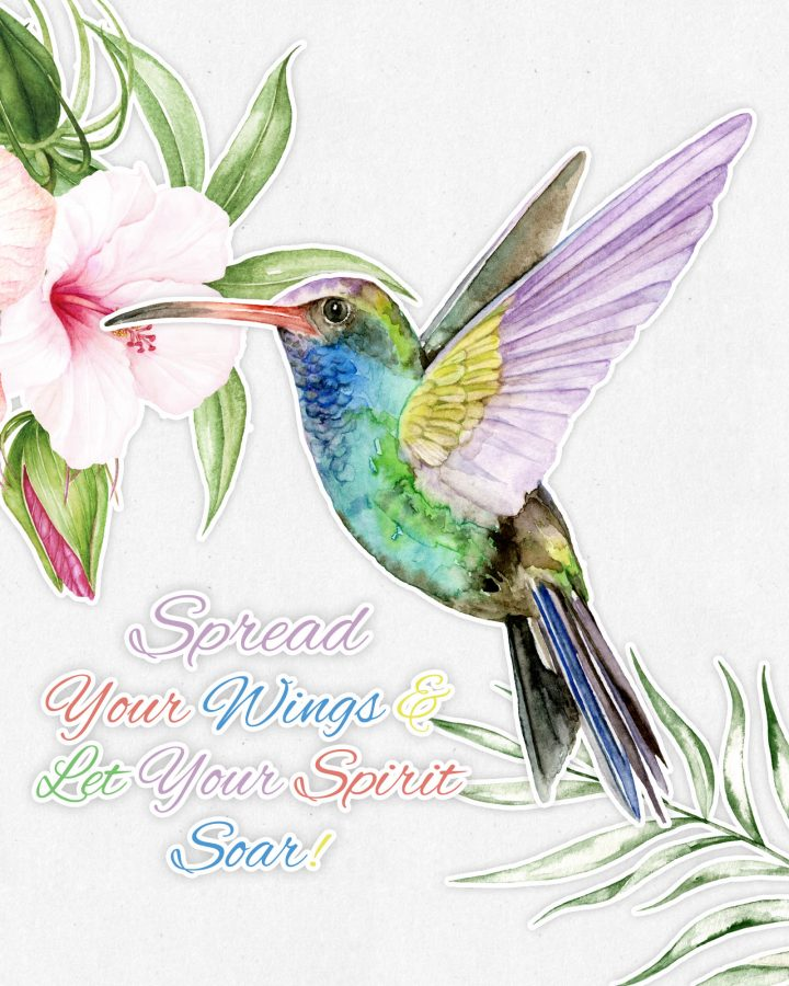 This Free Printable Humming Bird Wall Art is going to look absolutely amazing in it's new place of honor.  Hope it makes you smile each time you look at it!