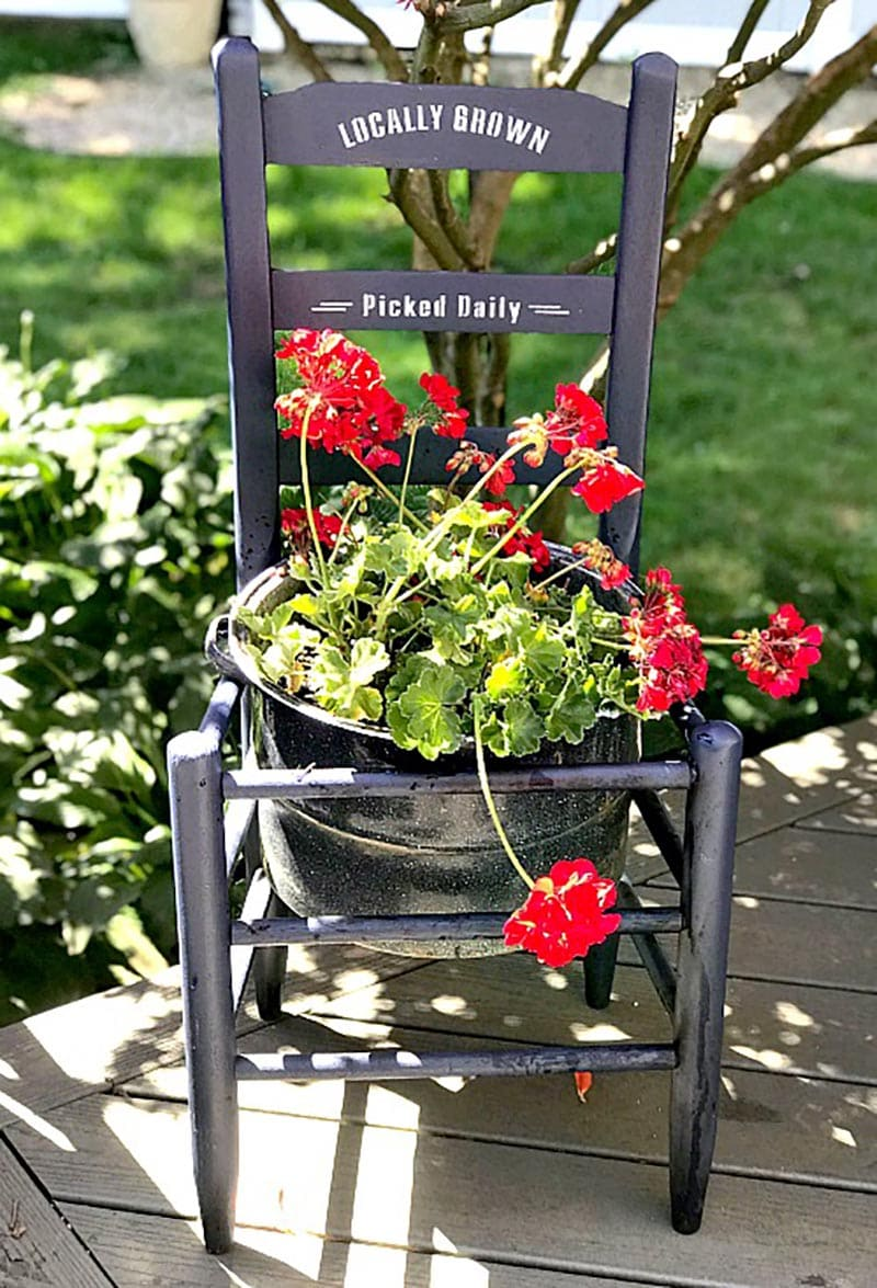 The Best Farmhouse Repurposed Chair DIYS and Ideas are going to enlighten you on how versatile a Thrift Chair can be! From Shelf to Bench and more!