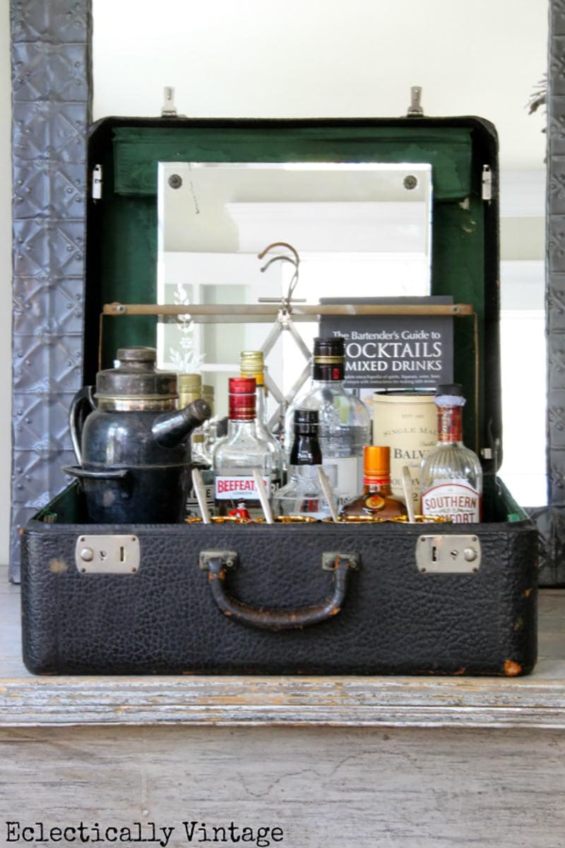 These very unique and amazing DIY Farmhouse Upcycled Suitcases are just waiting for you to be inspired by them and wanting to create!!!