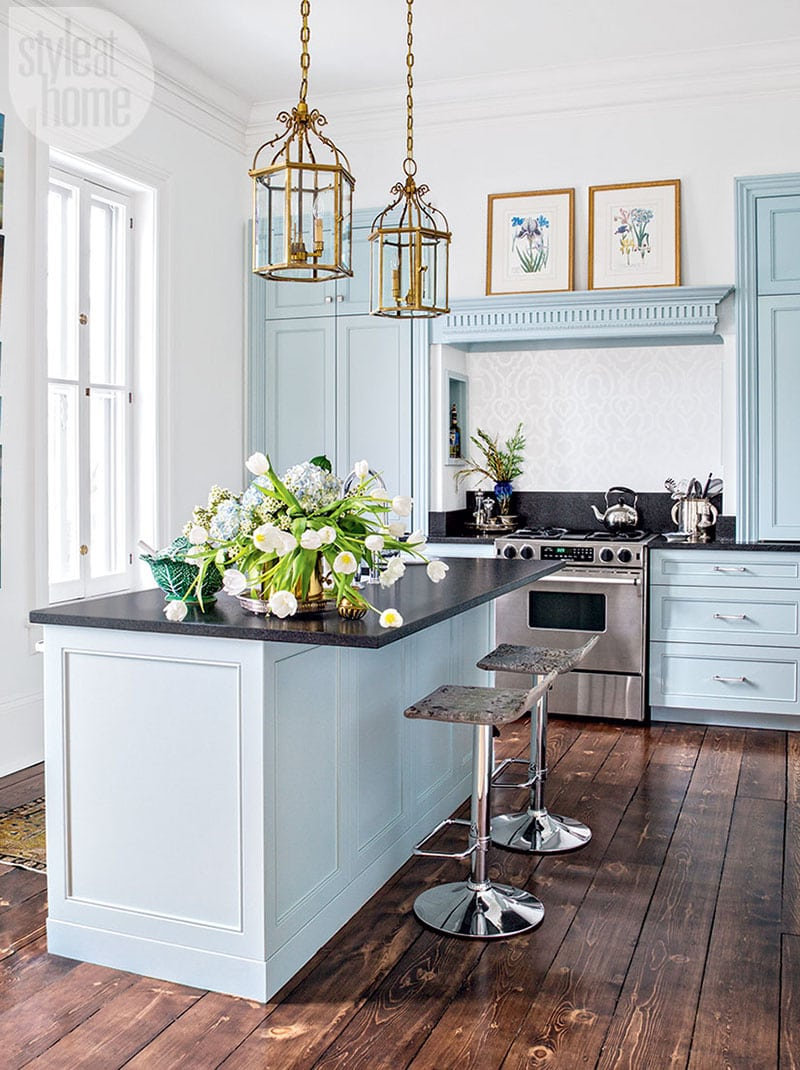 The Ultimate Blue Farmhouse Kitchen Collection Cottage Market