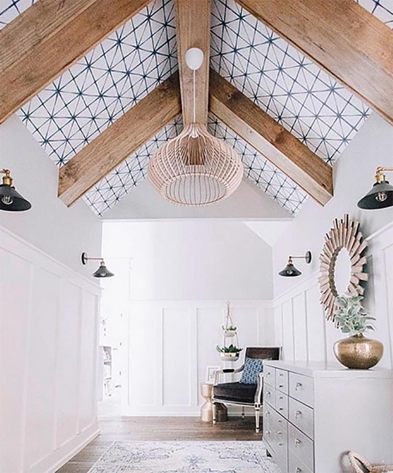 Prepare to be amazed how much impact a Statement Ceiling can make in your home! Drama, Charm, Color, Warmth, Airiness and more!