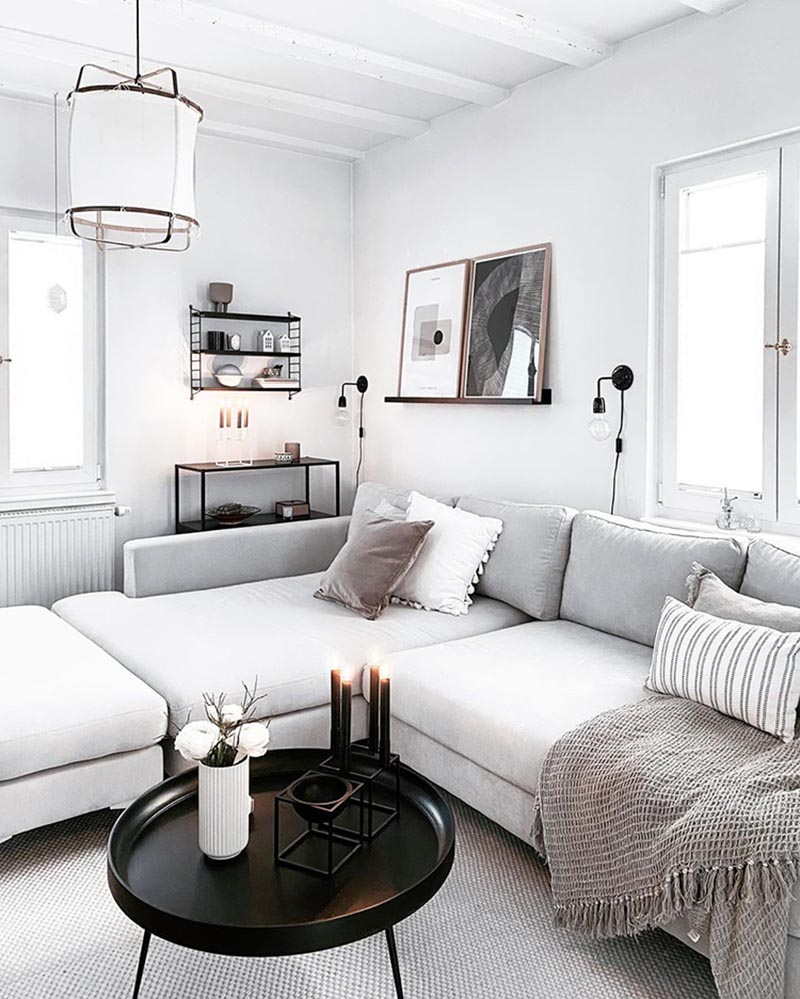 Come and see how easy it is to add Scandinavian Farmhouse Touches to your Home Decor.
