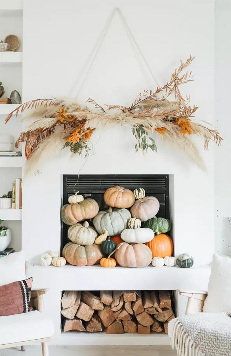 These Quick and Easy Charming Fall Farmhouse Ideas will help you transform your Home into a Magical Fall Wonderland on a Budget!