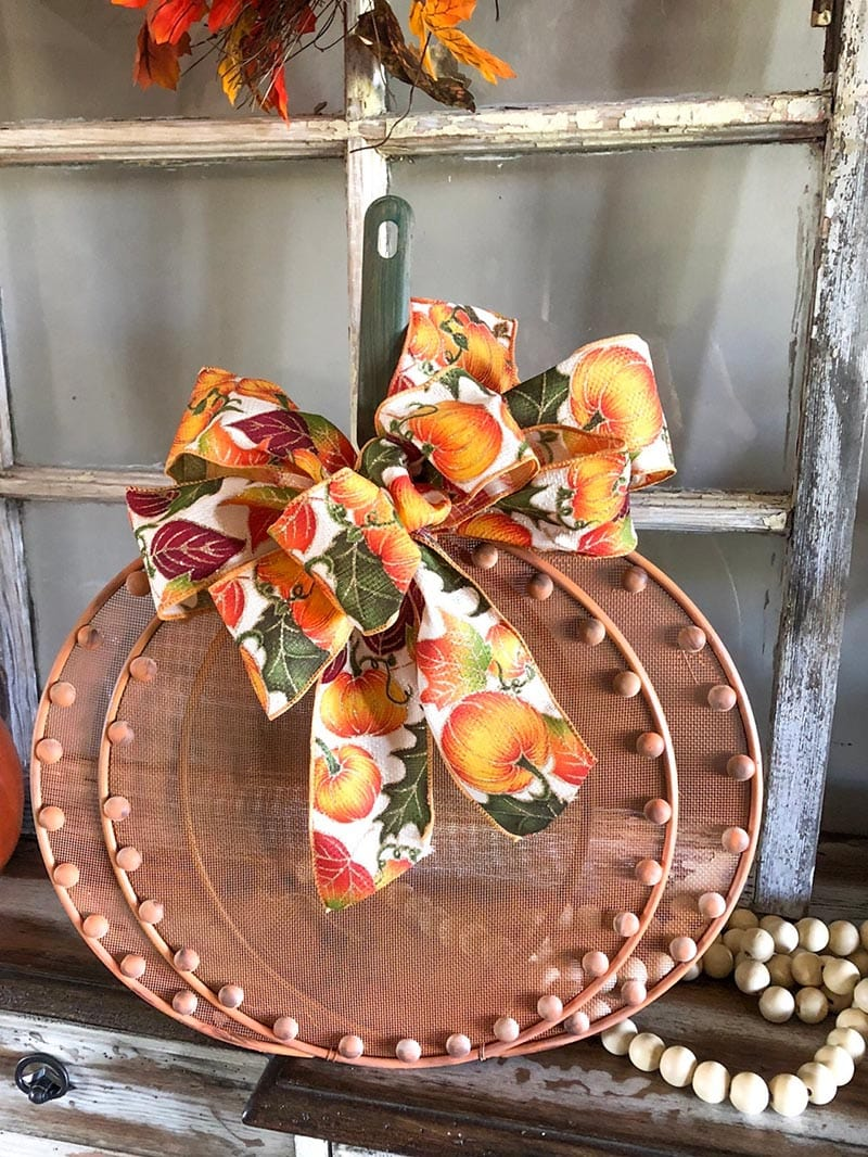 Fabulous DIY Fall Farmhouse Dollar Store Hacks are right here for you to enjoy and get a head start on Fall Decorating on a Budget!