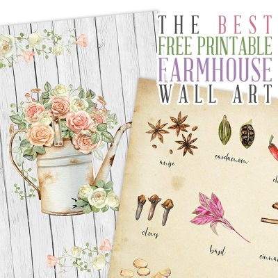 The Best Free Printable Farmhouse Wall Art
