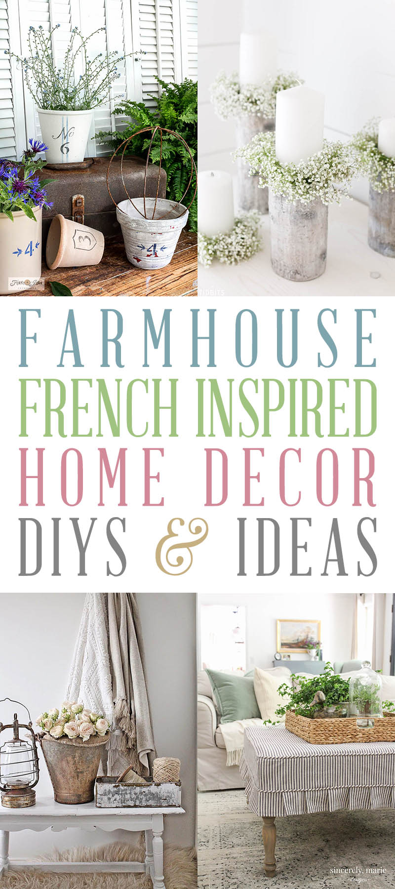 Farmhouse French Inspired Home Decor Ideas And Diys The Cottage Market