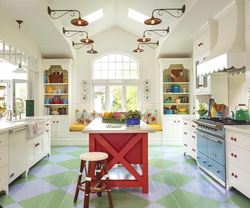 These gorgeous Farmhouse French Country Kitchens will totally inspire you!  You will be filled with all kinds of ideas that you can use in your very own Kitchen!