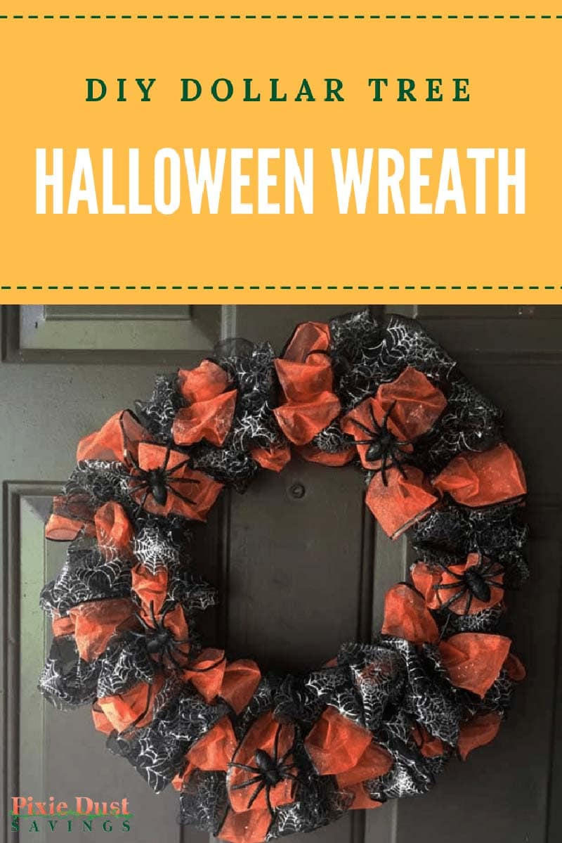 These Dollar Store DIY Halloween Wreaths will add the perfect Festive Halloween Charm to your Home that you have been looking for. Adorn your Front Door or any space in the home! Guaranteed Smiles or Screams!