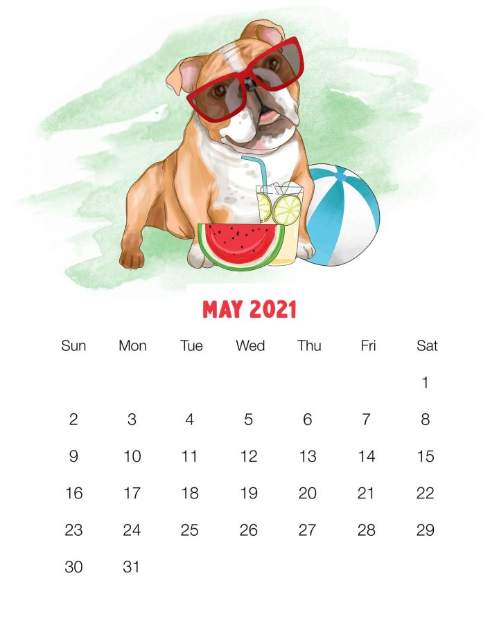 How about a Free Printable 2021 Cute Dog Calendar to get organized for the New Year! It has a happy style we know so many of you adore! Enjoy!