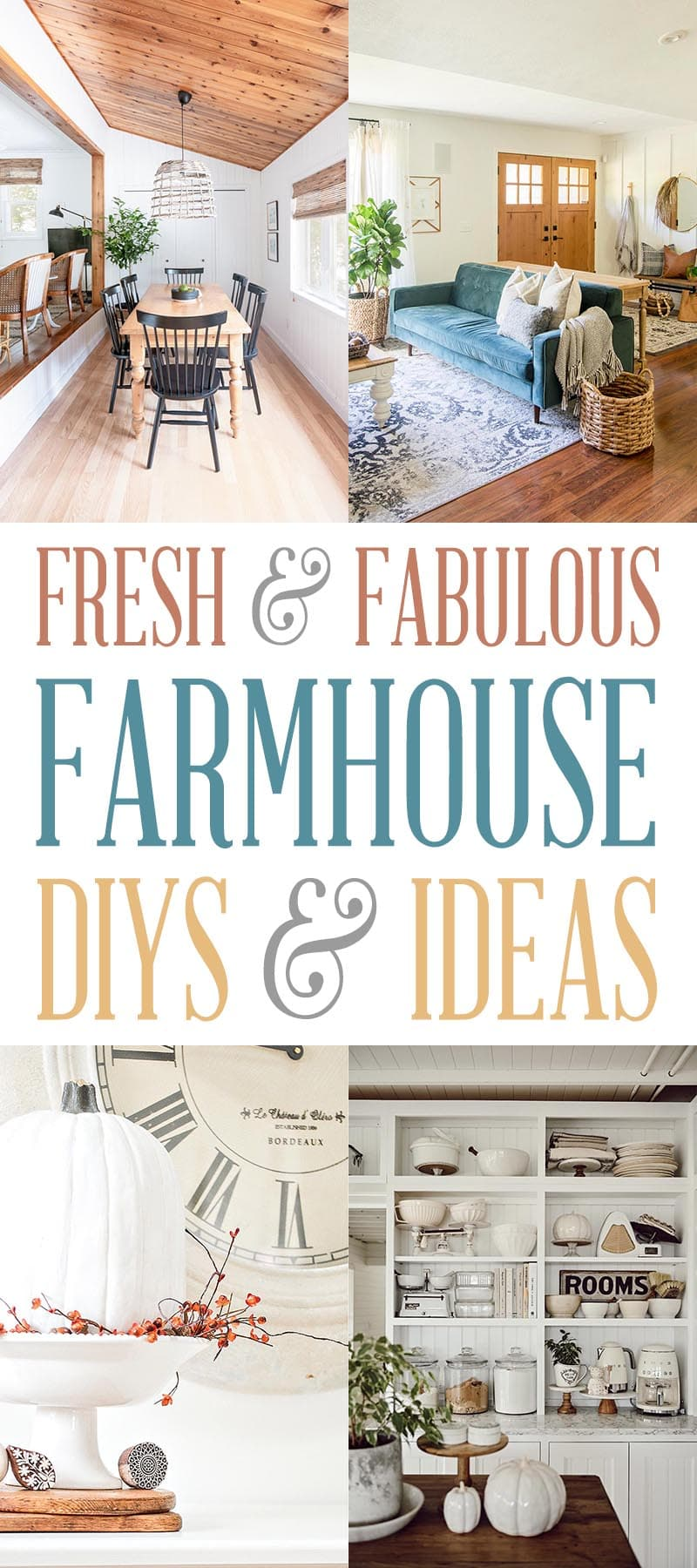 Fabulous and Fresh Farmhouse DIYS and Ideas are waiting to inspire you to create. All the newest projects in the Farmhouse World!