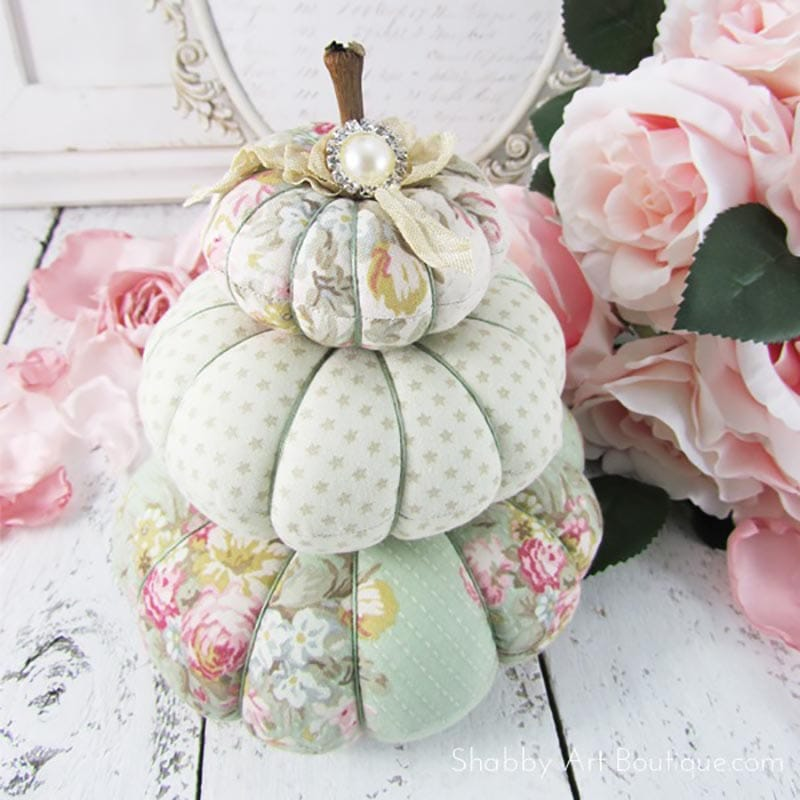 When you visit us today… you will learn how to make your very own DIY Fabric Pumpkins 23 different ways and you will not be able to choose your favorite because they are all amazing.