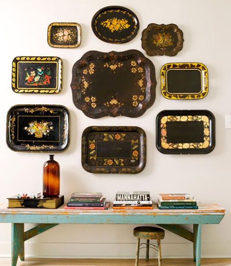 Come and see how simple it is to create Vintage Style Wall Art with your Flea Market and Thrift Store Finds!