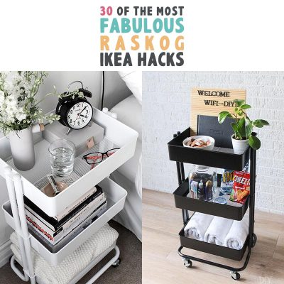 30 Of The Most Fabulous Raskog IKEA Hacks
