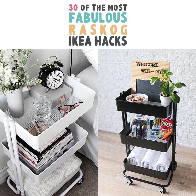 30 Of The Most Fabulous Raskog Ikea Hacks The Cottage Market