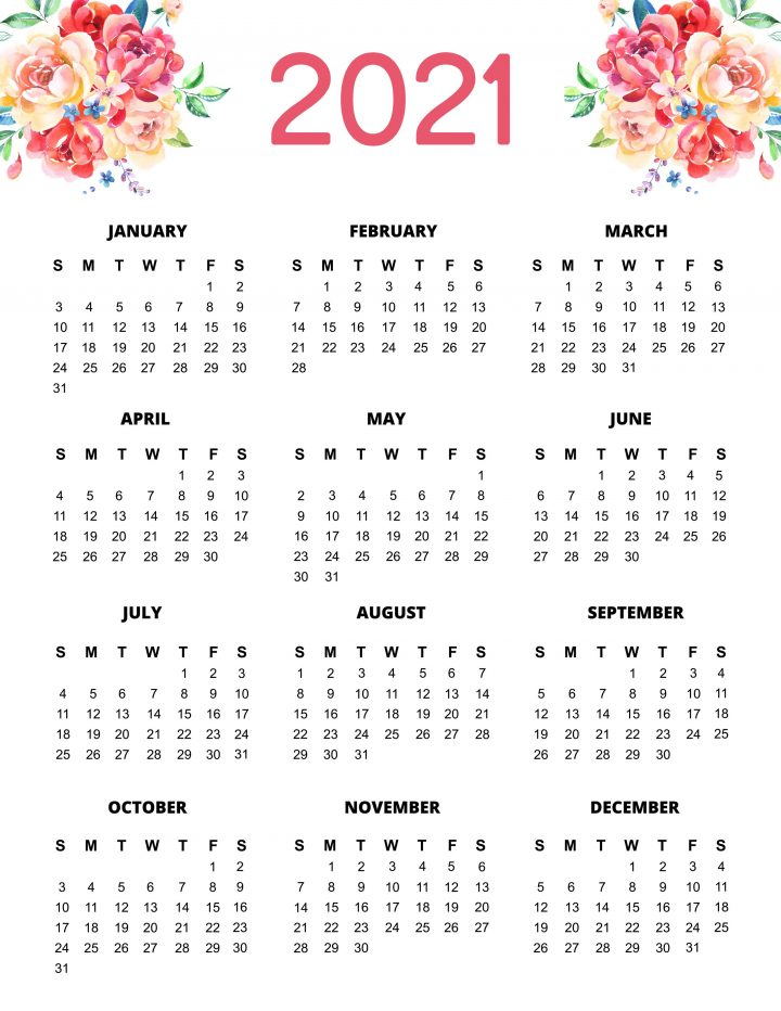 Free Printable 2021 Planner 50 Plus Printable Pages ...