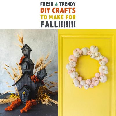 More Fresh and Trendy DIY Crafts To Make For Fall!