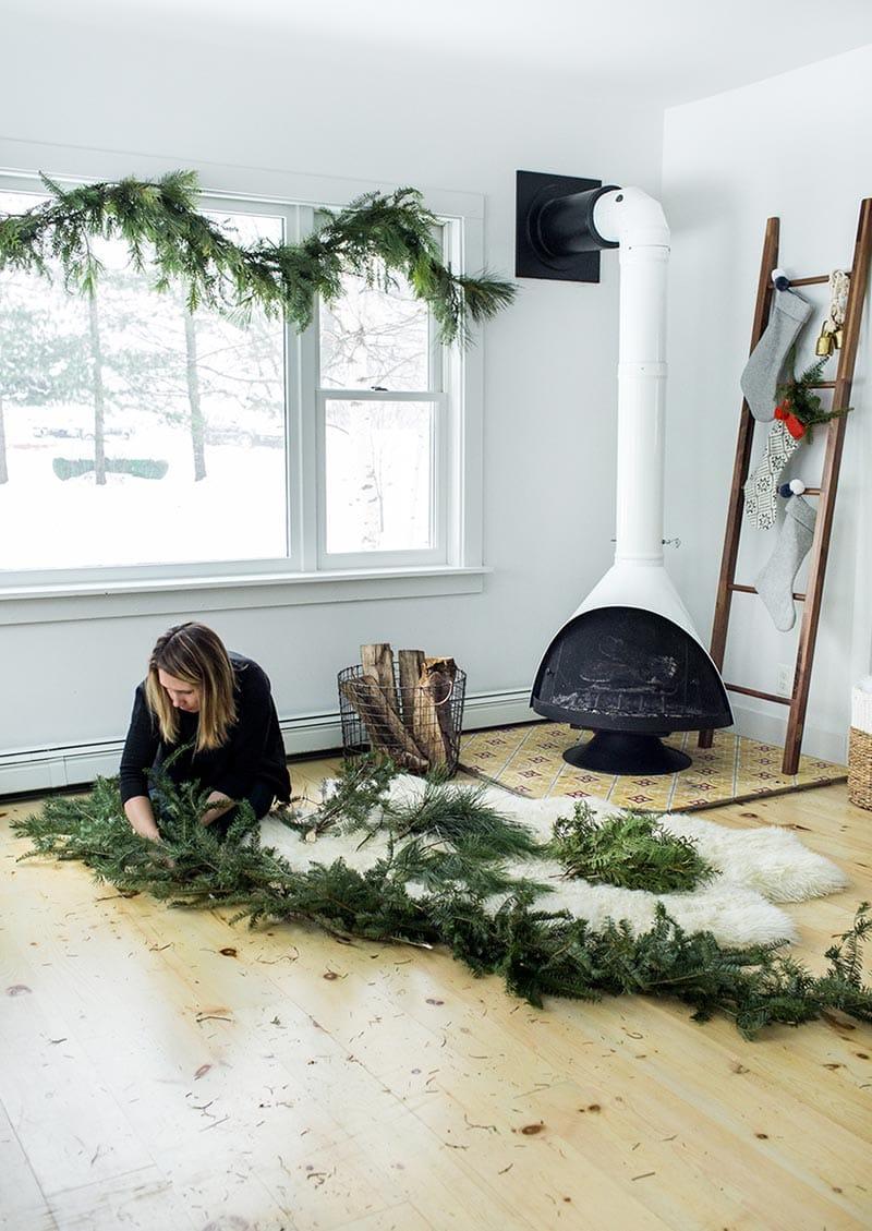 DIY Christmas Garland 10