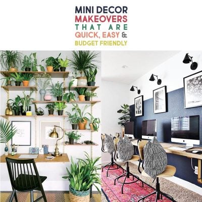 Mini Decor Makeovers that are Quick Easy and Budget Friendly